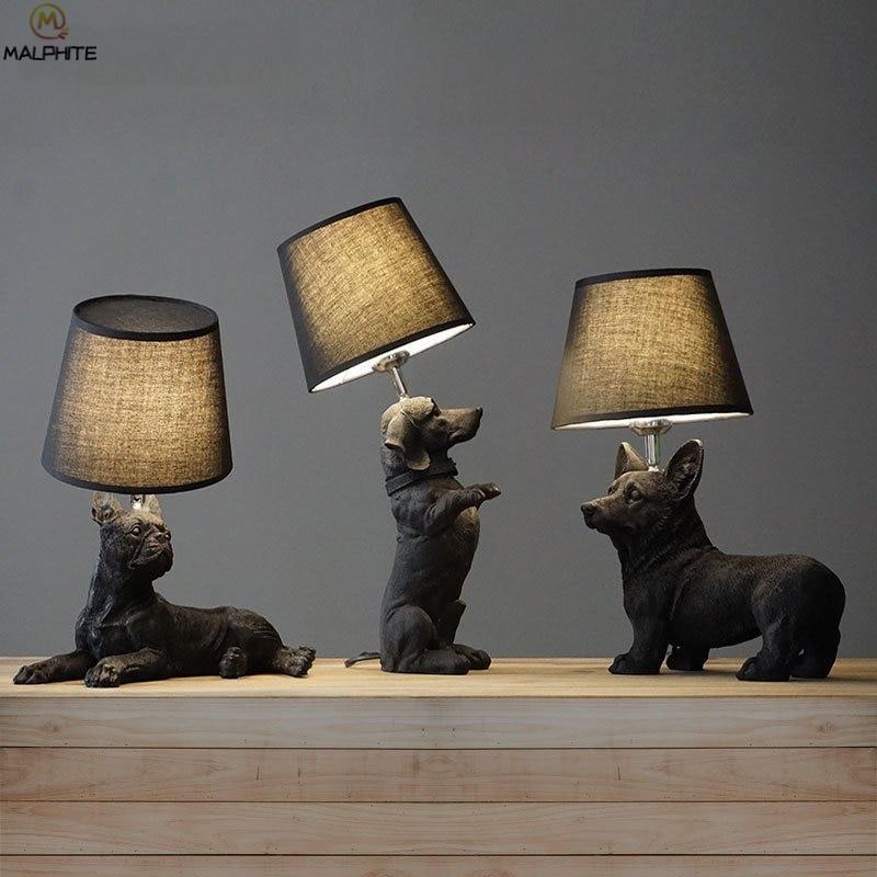 Animales originales Luz de mesa LED lámpara de noche para dormitorio habitación...