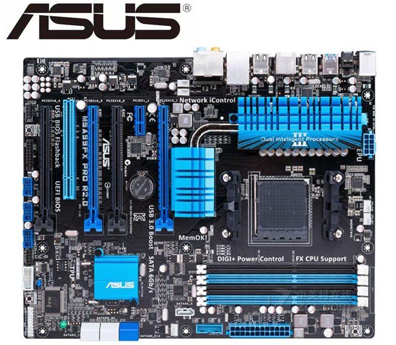 Placa base original ASUS M5A99FX PRO R2.0 para DDR3 para AMD AM3 + 32GB 990FX useddesk, placas base