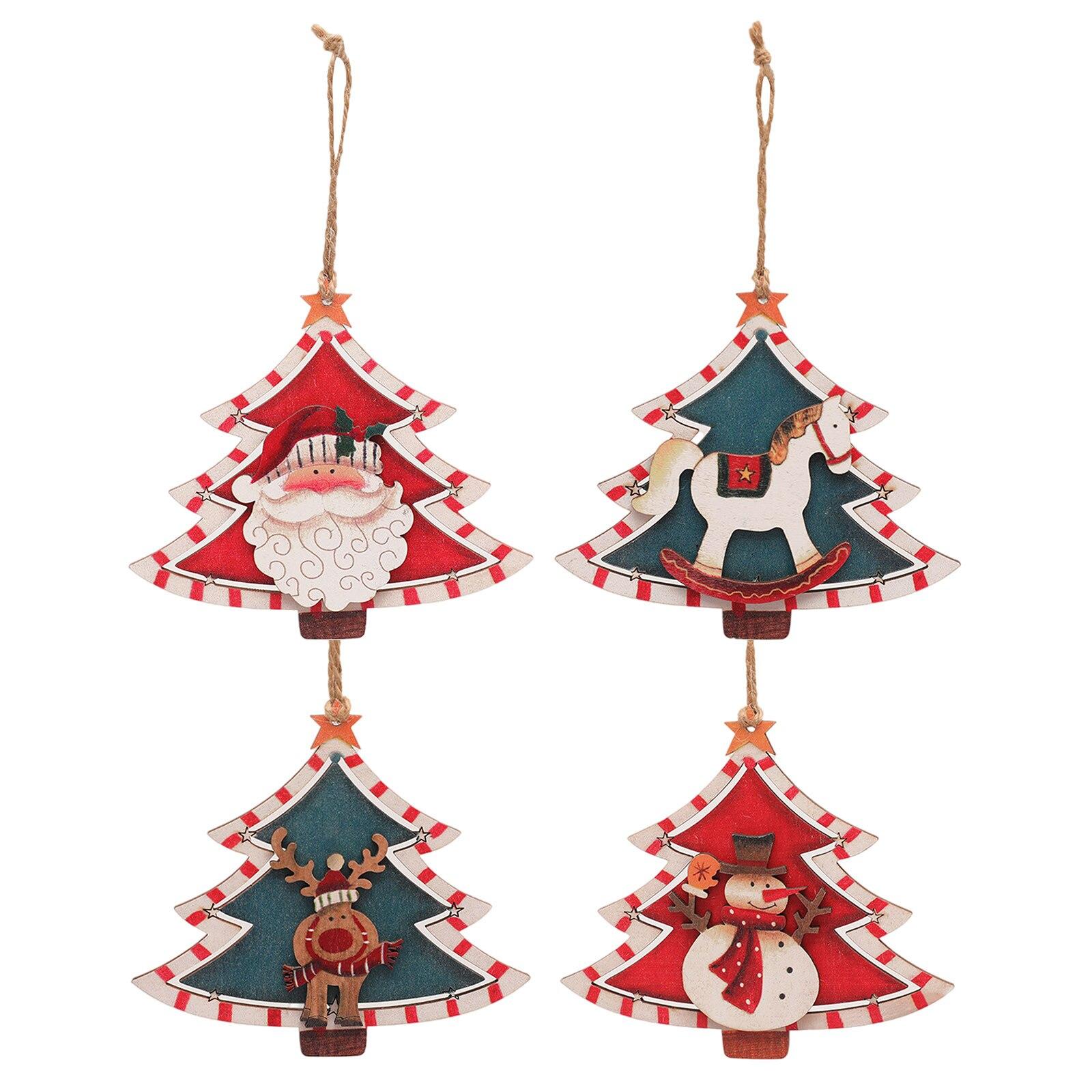 Adornos navideños para árbol De Navidad, Adornos De Papá Noel, muñeco De...