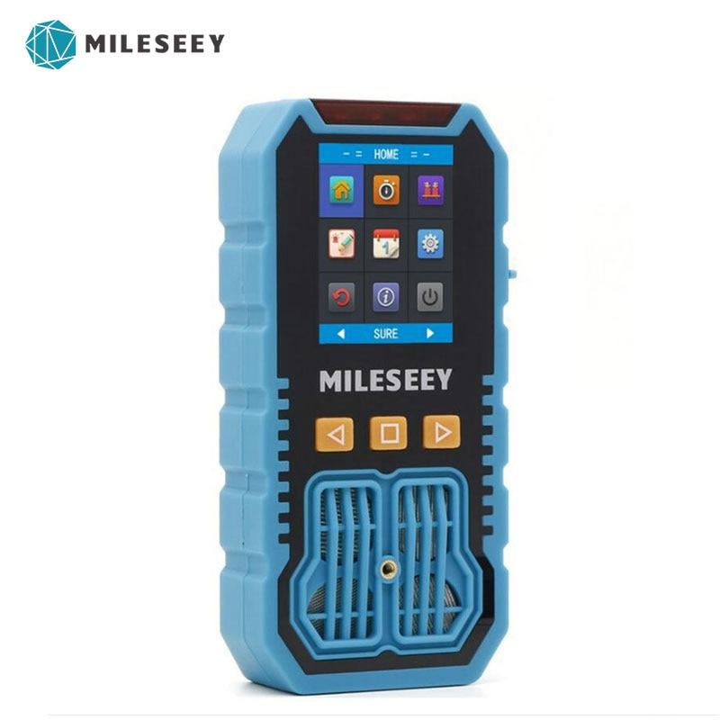 Mileseey-كاشف غاز محمول متعدد الوظائف 4 في 1 ، شاشة LCD ، محلل عالي الدقة ، H2S/CO/O2/ EX gax