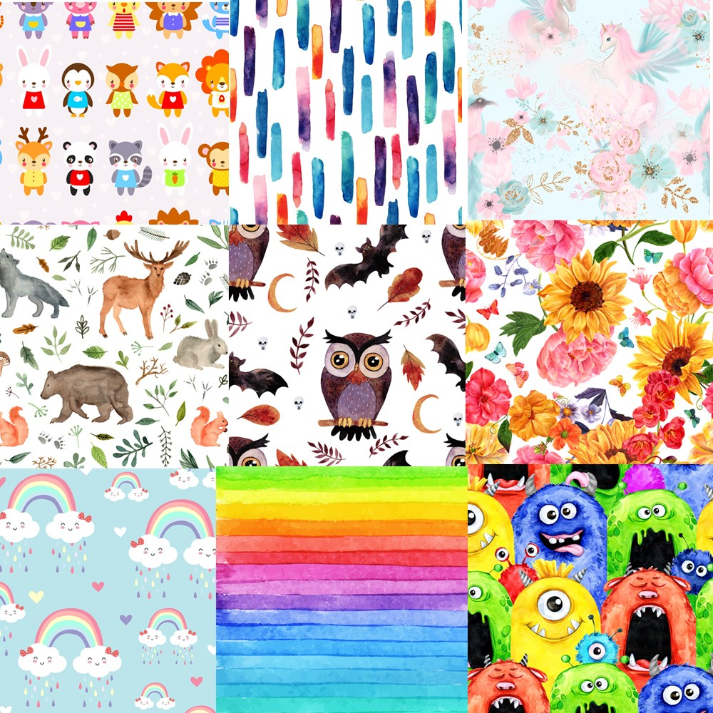 pororo sgs certificated new coming waterproof pul fabric for baby reusable diaper handmade cloth diaper fabric Asenappy Printed Solid Fabric For Baby Reusable Cloth Diaper Wet Bag, BPA Free Waterproof Fabric PUL For Baby Nack Bag