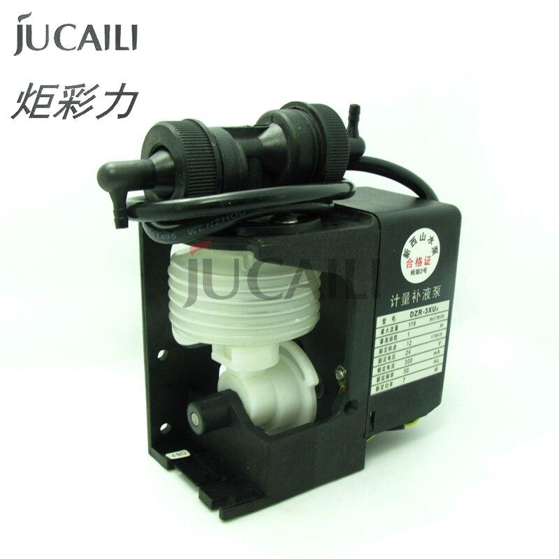 Jucaili 1 unidad de impresora de inyección de tinta Myjet bomba de tinta 24V para Xaar 128 impresora bomba de líquido