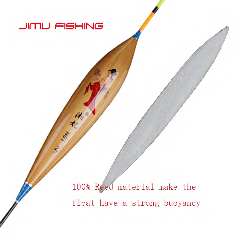 Superb Quality Fishing Float Light Weighted Reed Pesca Vertical Buoy Vertical Bobber Shallow Water Fishing Tackle Accessories enlarge