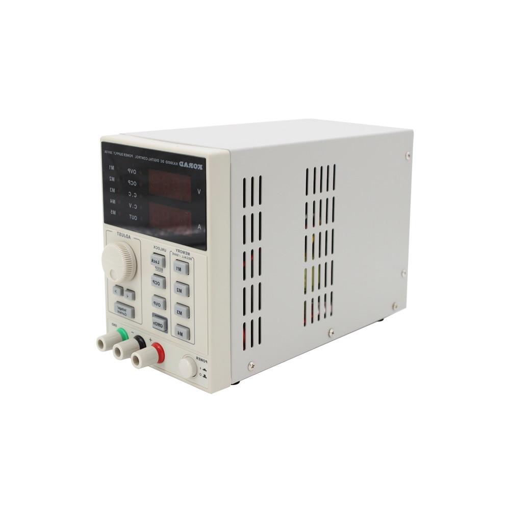 CNC DC Adjustable Regulated Power Supply 30V 5A Mobile Phone Repair KA3005D enlarge