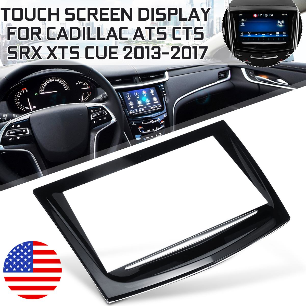 23106488 For Touch Screen Display For Cadillac Escalade ATS CTS SRX XTS CUE 2013-2017 sense for touc