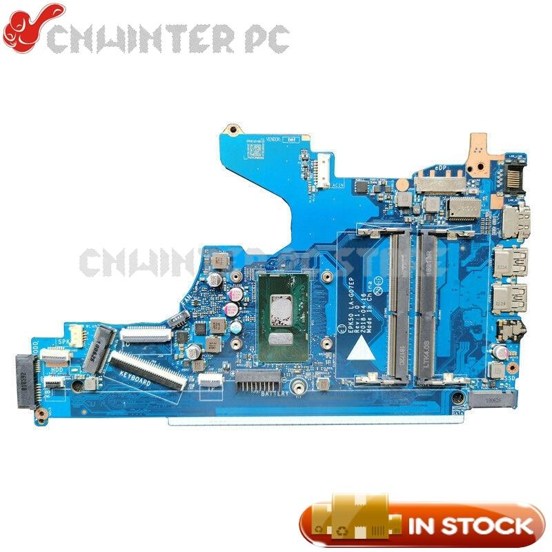 NOKOTION ل HP 15-DA 15-DA0073WM اللوحة المحمول L20371-601 L20371-001 EPK50 LA-G07EP SR3LC I7-8550U CPU DDR4