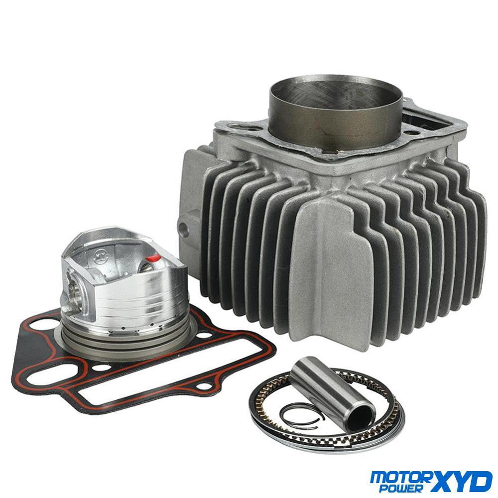 56.5mm pistão & anéis kit corpo do cilindro apto para lifan lf150 150cc 1p56fmj motores horizontais sujeira pit bicicleta peças