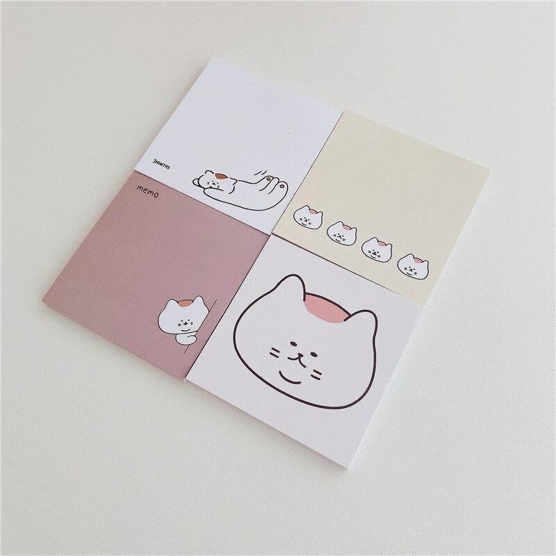 Корейский Ins с рисунком милого кота Блокнот студент Примечание Бумага канцелярских принадлежностей школьные принадлежности кавайи Творче...