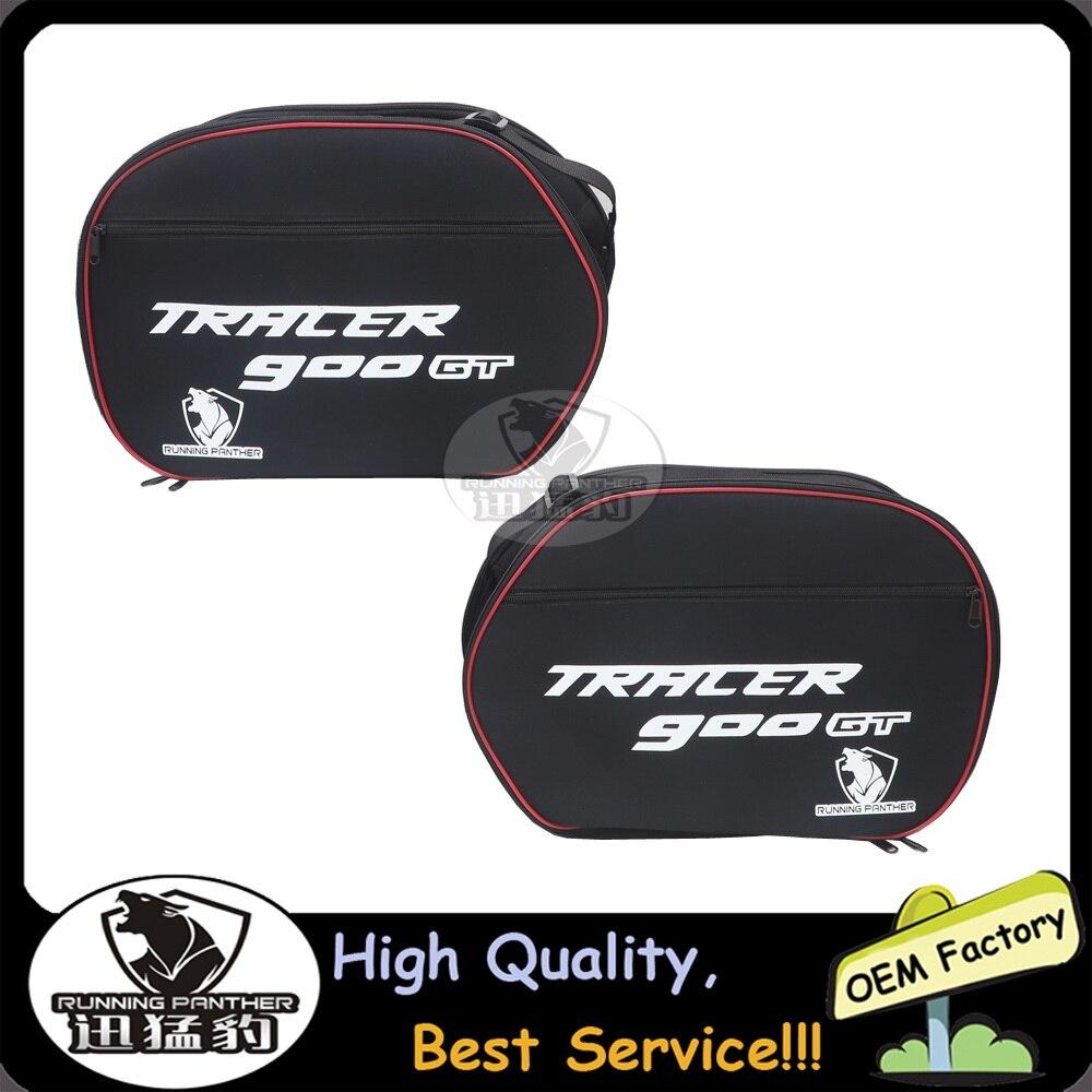 ل Pannier Liner TRACER 900GT 2018 2019 و يناسب ياماها FJR 1300/TDM 900 دراجة نارية حقائب الأمتعة الأسود شحن مجاني