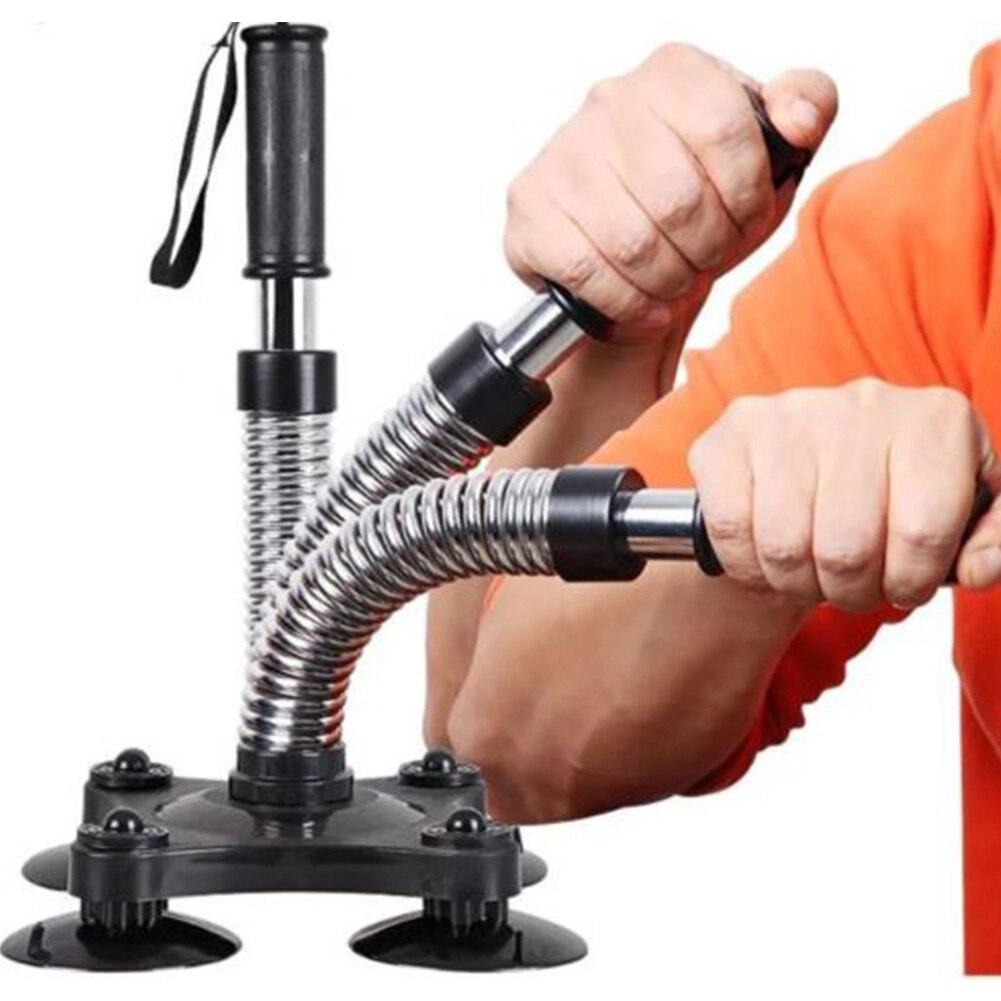 Entrenador antebrazo equipo muscular poder ejercitador conjunto de pinzas de mano lucha fuerte resistencia de muñeca brazo profesional acero