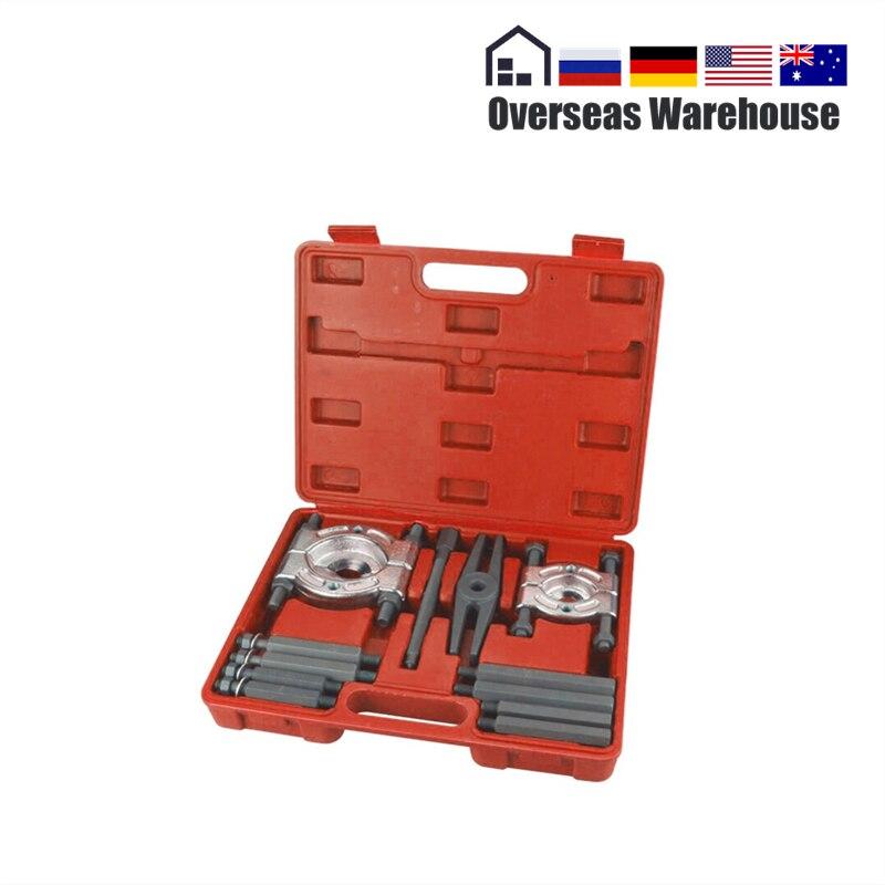 Auto Lager Separator Puller Set Lager Removal Tool Set 12 stücke Bar-Typ Splitter Getriebe Puller Fly Rad Werkzeug 30-50mm 50-75mm