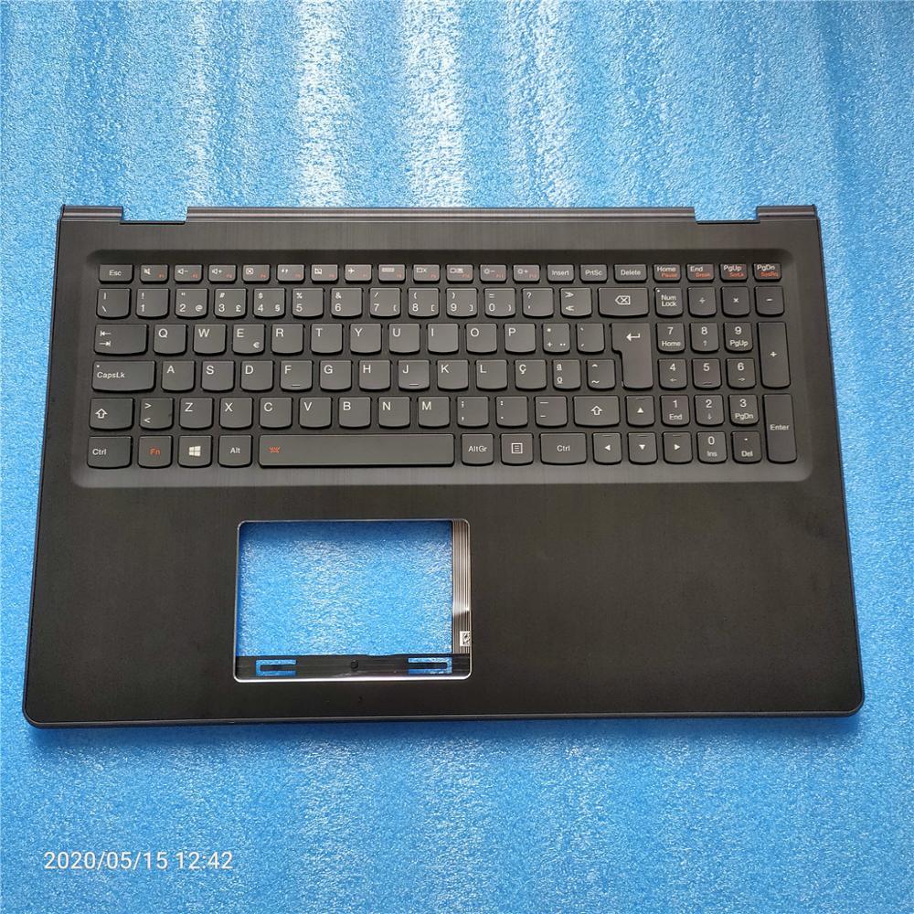 Nuevo Yoga 500-15 500-15ISK 500-15IBD 500-15IHW Flex 3-15 de 70 3-1580 cubierta superior con reposamanos teclado cubierta de bisel 5CB0J34017