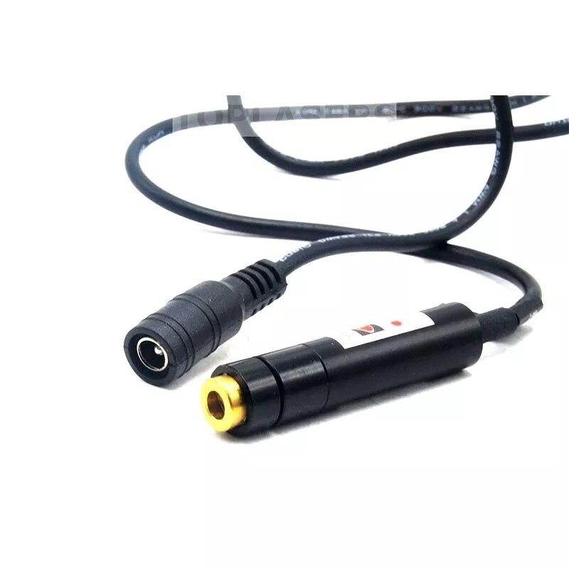 Крест регулируемый 5 мВт 650 нм красный +луч лазер локатор модуль w 5 В адаптер 12x55 мм