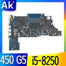 For HP ProBook 450 G5 Laptop Motherboard With SR3LA i5-8250u L00825-601 L00825-001 DA0X8CMB6E0 DDR4 MB 100% Tested Fast Ship