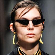 Retro Cat Eye Sunglasses Women Brand Design Metal Frame Small Sun Glasses for Men Classic 90s Eyewea