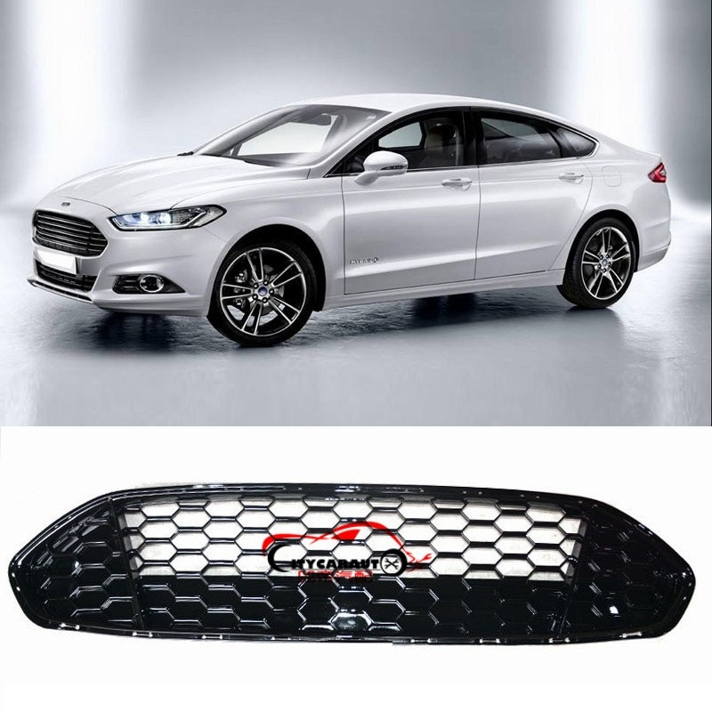 CITYCARAUTO-غطاء شبكي للسيارة ، شبكة أمامية للسباق ، مناسب لـ Mondeo Fusion Mk3 2013-17 ، شحن مجاني عبر فرنسا
