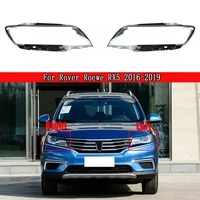transparent light case for roewe rx5 2016 2019 car headlight cover lampcover lampshade lamp glass lens case auto caps
