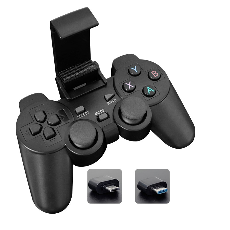 Wireless Gamepad For Xiaomi Smart Phone  For Android Phone/PC/PS3/TV Box Joystick 2.4G Joypad Game Controller game fans