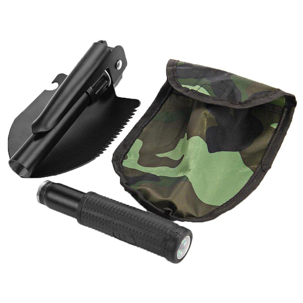 Садовые инструменты мини-военный портативный складной лопата для выживания Лопата экстренный садовый совок для кемпинга на открытом воздухе скидка