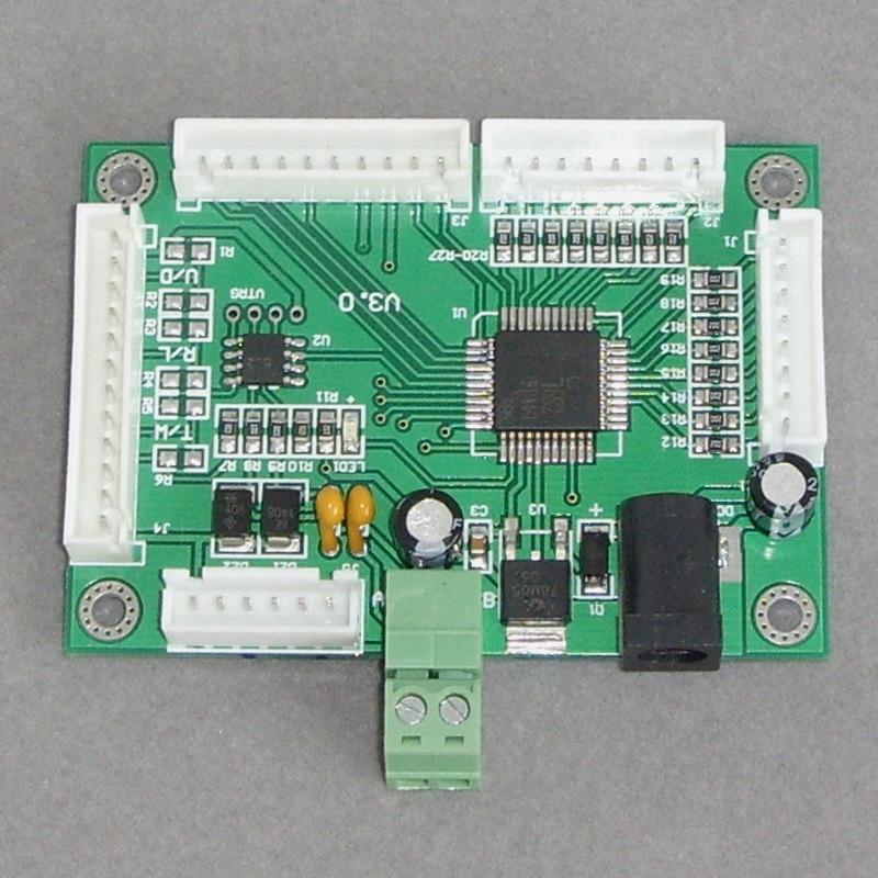 RS485 تحكم لوحة المفاتيح التحكم التبديل التناظرية كمية اكتساب المراقب المالي