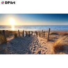 Diamant peinture 5D plein carré/rond perceuse coucher de soleil bord de mer plage paysage Daimond broderie peinture point de croix mosaïque M951