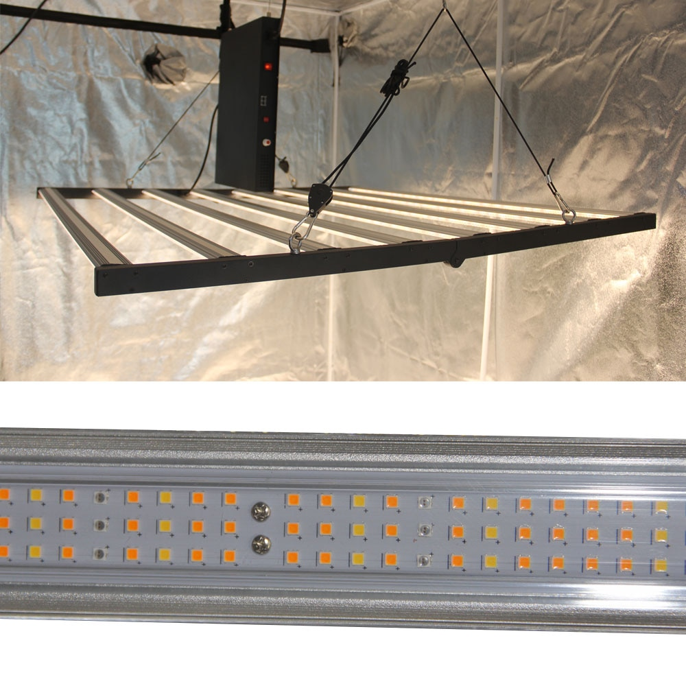 Full Spectrum LED Grow Light 900W LED Bar Rigid Strip Lamps for Plants Phyto Lamp for Aquarium Hydroponic