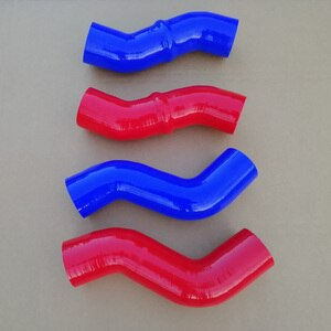 Silicone Intercooler Hose Kits For KIA Mohave 3.0 V6 CRDI 2008-2019  28264-3A501 28267-3A600 longer than Original Hose