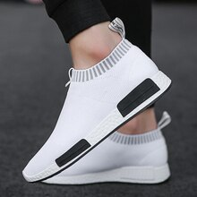 Men's Breathable Running Shoes 47 Casual Fashion Outdoor Mens Sports Shoes 46 Light Socks Large Size