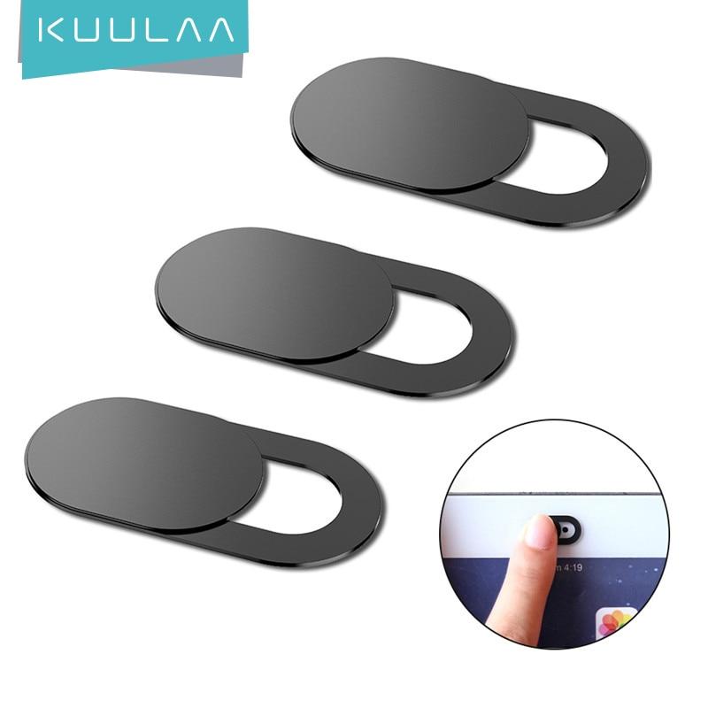 Наклейка KUULAA мобильный телефон для веб-камеры, пластиковый слайдер с магнитным затвором для iPhone, веб-ноутбука, ПК, iPad, планшета