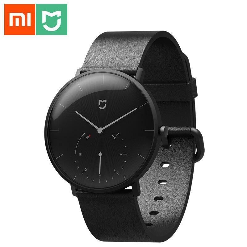 Relógio de Quartzo Vida à Prova Vibrar para Mijia Xiaomi Mijia Inteligente Pedômetro Sensor Dbluetooth Água Bluetooth Relógio Banda Lembrete App