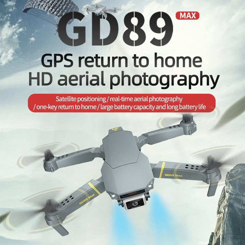 Global Drone GD89 Max With Aerial Photography 8K Hd Pixel Camera Remote Control 4-axis Quadcopter Aircraft Long Life Flying Toys enlarge