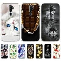 case for oppo a9 case for oppo a9 2020 a5 a31 a7 2018 a91 a5s a52 a72 a92 a11x a11 soft tpu silicone phone cover coque fundas