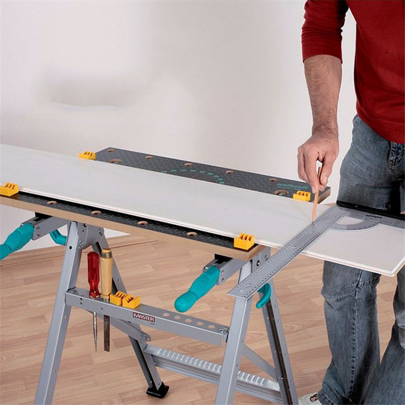 Carpintería multifuncional mesa de trabajo consola marcador de carpintería trabajo de mesa taller ser aplicable trabajos fijos abrazadera de carpintería