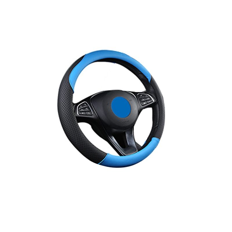 Кожаный чехол на автомобильное колесо, универсальный модный чехол на автомобильное колесо