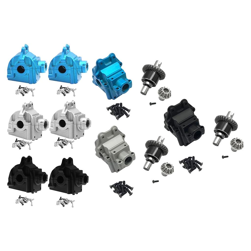 Passt Für Wltoys 144001 1/14 RC Modell Auto Getriebe Oberen & Niedrigeren Abdeckungen Gehäuse Shell Zubehör Set Ersatzteile
