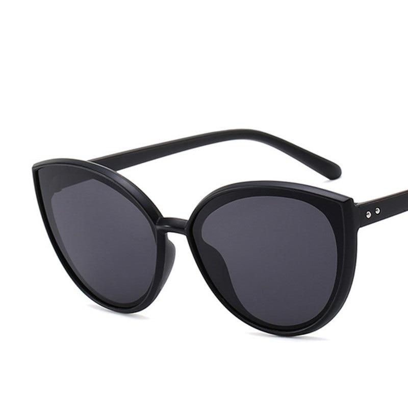 Модные солнцезащитные очки Cateye, Большие зеркальные женские очки большого размера для покупок и вечеринок, мужские солнцезащитные очки, выс...