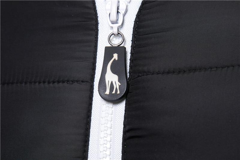 Jaket musim sejuk kalis air, jaket bertudung lelaki, mantel musim - Pakaian lelaki - Foto 3