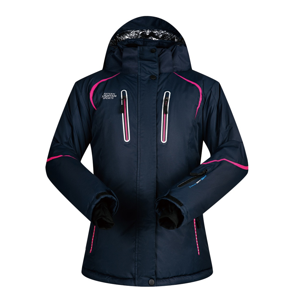 Outdoor Women's Ski Suit Breathable Wind-Resistant Waterproof Breathable Warm Professional Ski Suit
