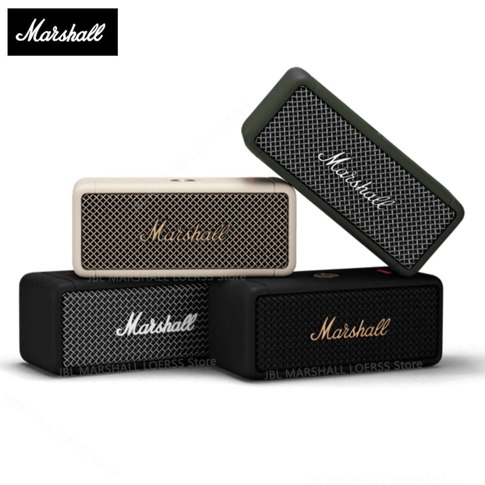 MARSHALL EMBERTON Original Wireless Bluetooth Speaker IPX7 Waterproof Sports Speaker Stereo Bass Sound Outdoor Portable Speakers
