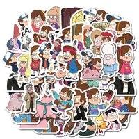 103050pcs cute cartoon animation weird town character pattern graffiti waterproof sticker luggage decoration wholesale