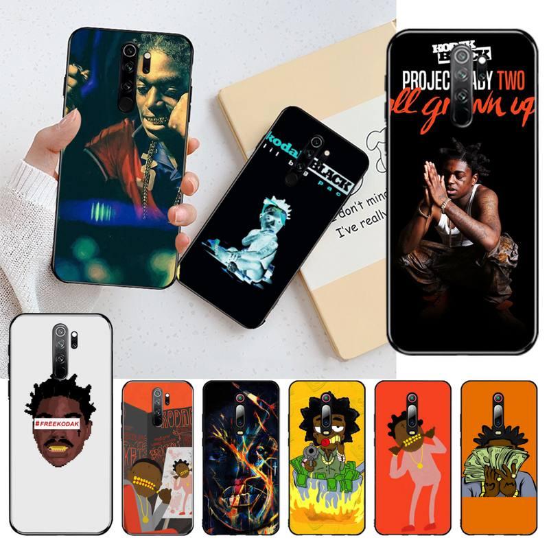 PENGHUWAN, Kodak Nero, rapero, diseño único de lujo, funda de teléfono para Redmi Note 8 8A 7 6 6A 5 5A 4 4X 4A Go Pro Plus Prime