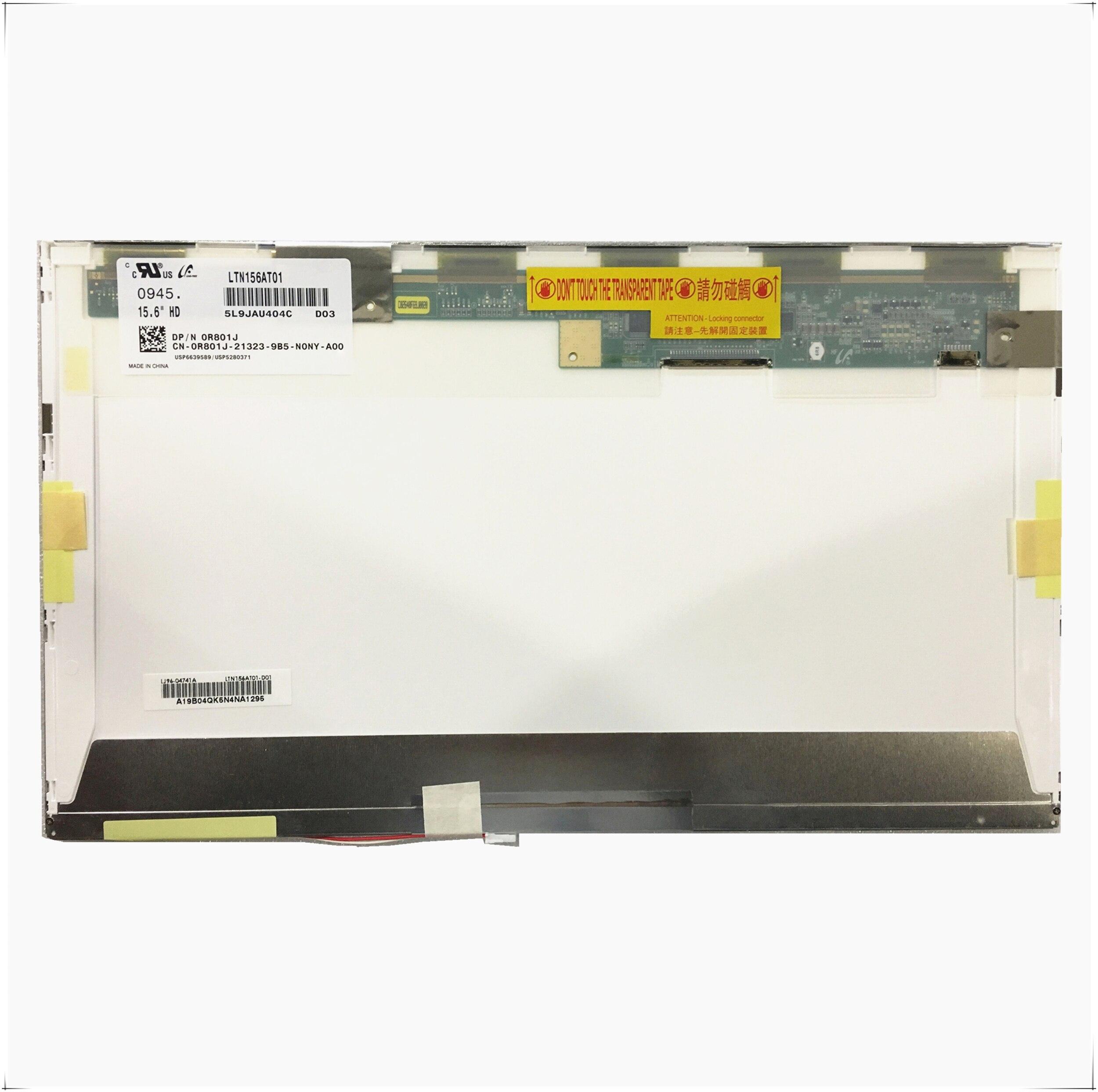 شحن مجاني LTN156AT01 LP156WH1-TLC1 TLA1 B156XW01 V.0 V.1 V.2 V.3 N156B3-L01 L02 CLAA156WA01A Lcd شاشة 1366*768 30 دبابيس