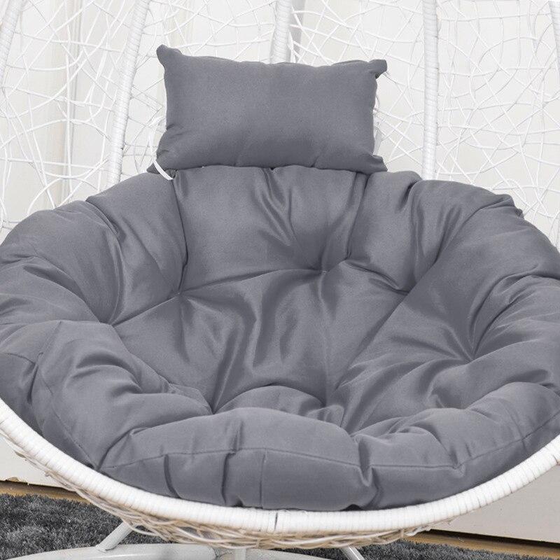 Cojines de silla Hamaca, cojín suave Para silla colgante, asiento de columpio Para el hogar, hamaca Para Jardín Plegable,sillon colgante,hamacas para jardín plegable