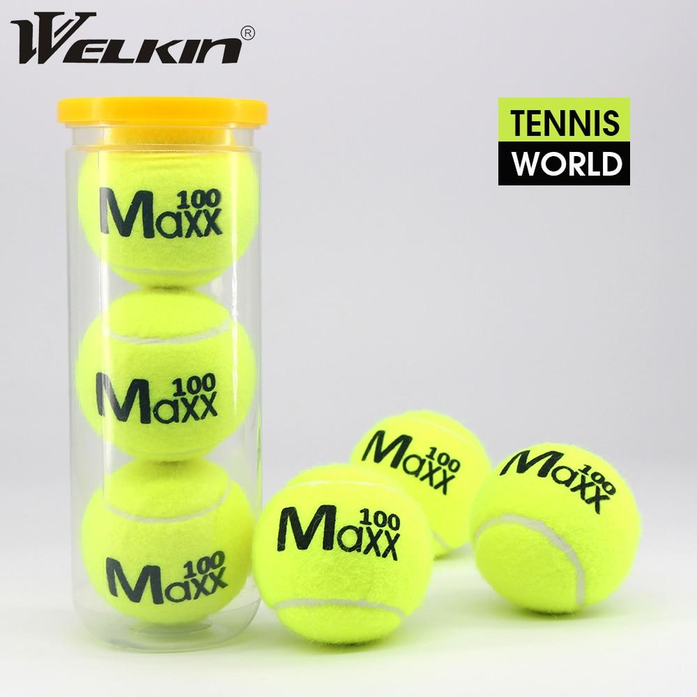 Профессиональные теннисные мячи WILKIN для соревнований, тренировочные теннисные мячи с высокой эластичностью, спортивные теннисные мячи 3 шт...