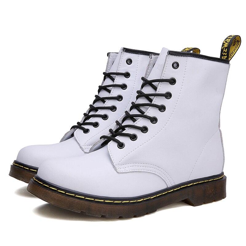 Unisex Women Boots Men Winter Shoes For Snow Waterproof Footwear Plus Size 47 Slip On Ankle