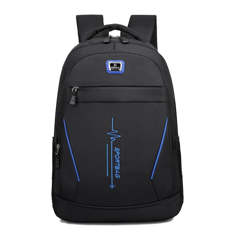 backpack men s korean wave casual backpack men s bags computer bags large and medium sized student bags fashion travel bags New Casual Nylon Laptop Backpack Men' Travel Backpack High Quality School Bags Trekking Large Capacity Notebook Computer Bag Hot