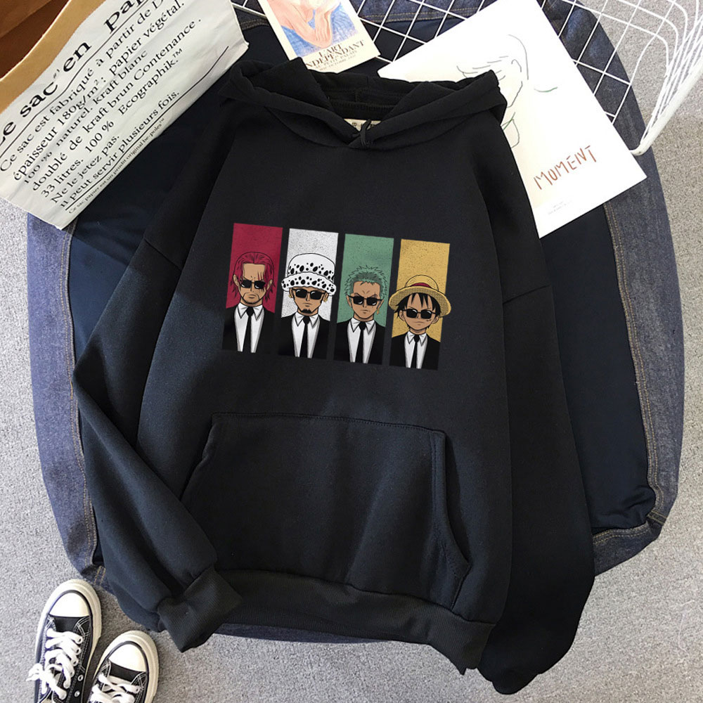 Creative One Piece Long Sleeve Female Fashion Cool Casual Harajuku Loose Jacket Pullover Printed Womens Comic Cartoon Tracksuit