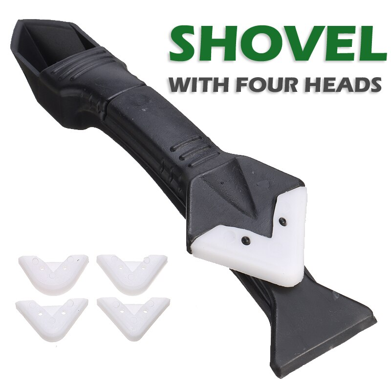 3 in 1 Silicone Sealant Remover Tool Kit Reusable Caulking Scraper Mould Removal Set Floor Finishing Cleaner Hand Tool