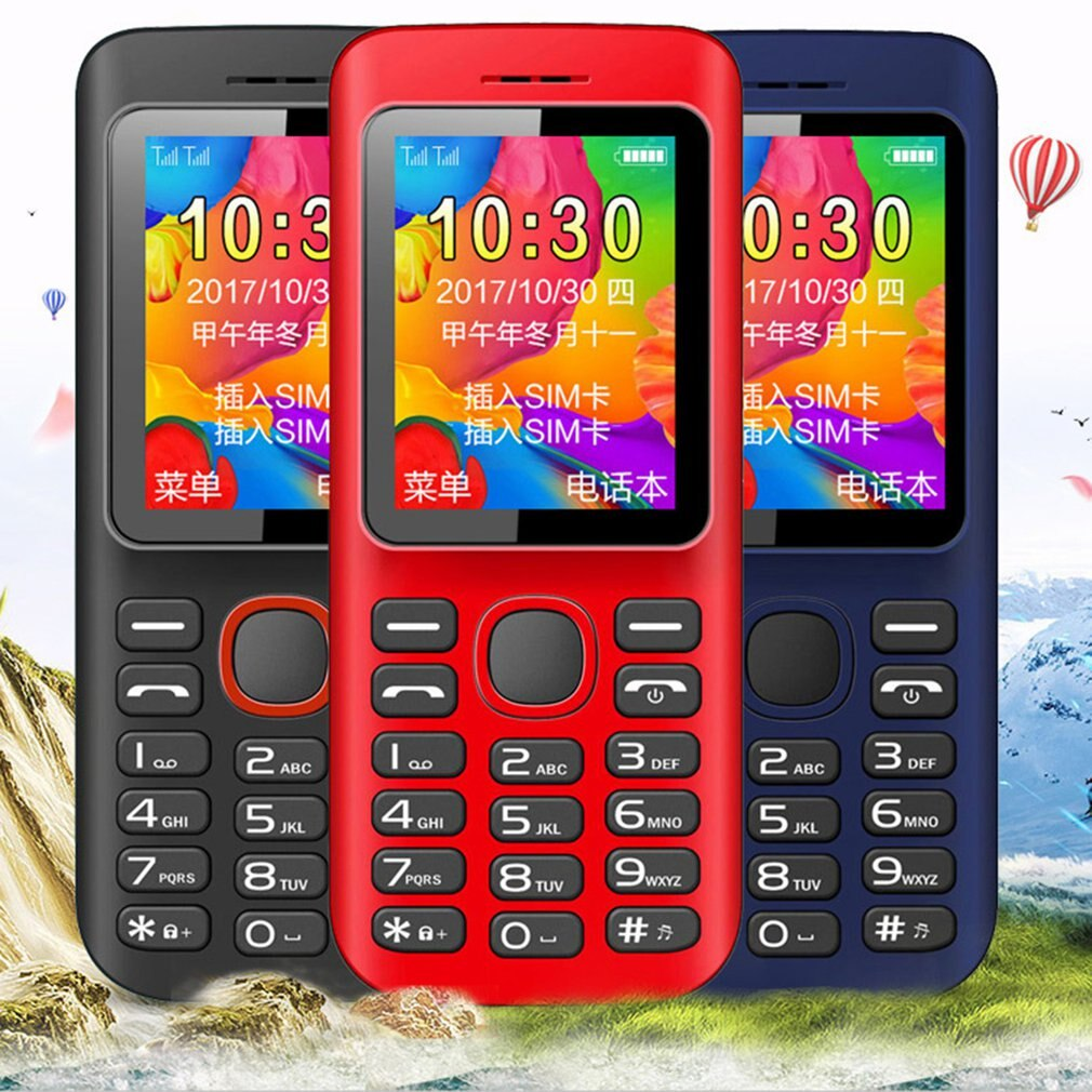 Dual Card Dual Standby Gsm Big Words Loud Old Man Mobile Phone Big Words Loud Old Mobile Phone Portable Old Mobile Phone