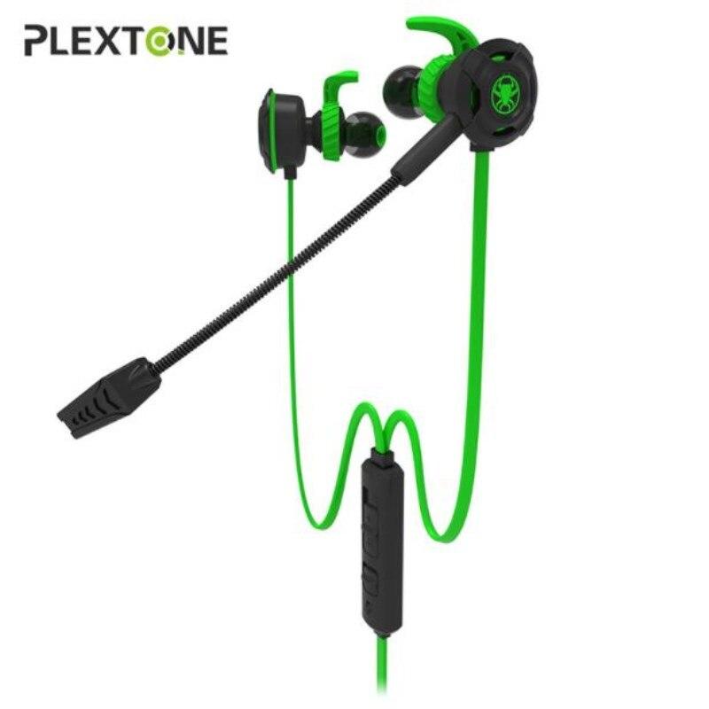 Plextone G30 Bass, auriculares con micrófono para videojuegos desmontable, teléfono, ordenador estéreo, juego, auriculares para Playerunknowns Battlegrounds Gamer